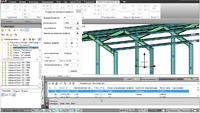 Model Studio CS. Правка металлического каркаса здания